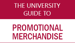 The University Guide to promotional merchandise