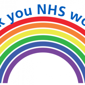 NHS Thank You Sticker