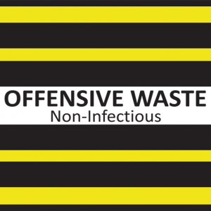 Offensive Waste Label