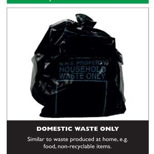 Waste Aware - Domestic Waste Label